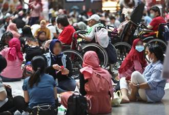 外籍移工財富多自由 網曝:有錢人滿街跑