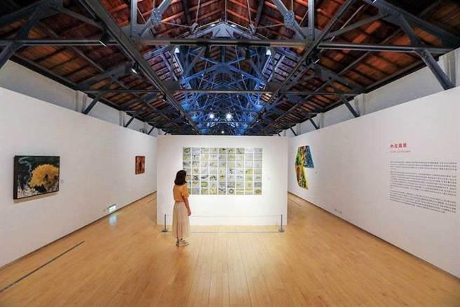 美術館的展覽約3個月更換一次,目前為開幕展「辶反風景」。(圖/林士傑攝)