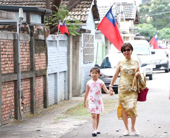 高雄黃埔新村在11月舉辦了一系列的免費講座、活動,以眷村生活為主軸,涵蓋食衣住行育樂等不同視角。(柯宗緯翻攝)