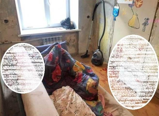 5名少女到男網友家中開趴突遭持搶掃射,3人當場死亡,另2人躺屍體旁「裝死」倖存獲救。(圖/翻攝自ren.tv)