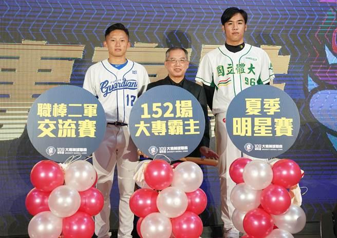 109學年度大專棒球聯賽預定26日開打,本屆賽事有三大亮點,分別是職棒二軍交流賽、夏季明星賽和公開一級全新賽制。(體育署提供)