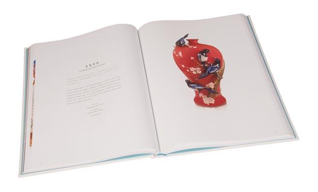 圖書類精裝第一名法藍瓷經典100。圖╱工業局提供