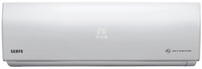 全國電子的SAMPO變頻冷暖空調AU-SF28DC,原價2萬4900元,特價2萬2500元,送原廠好禮3選1。(全國電子提供)