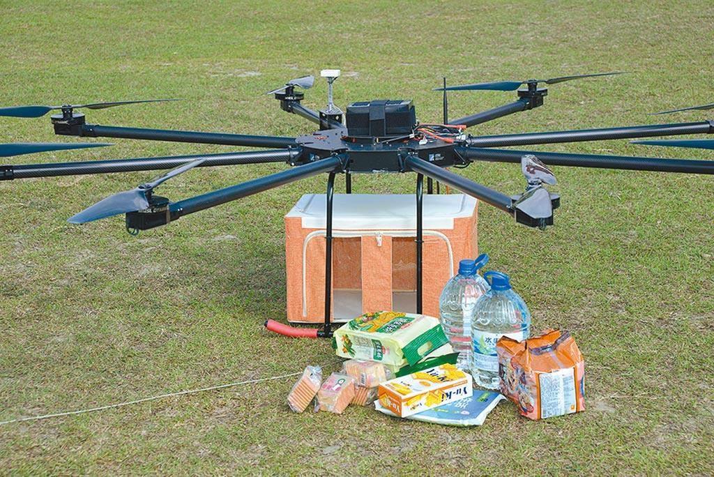 無人機組國家隊,這是工研院所開發的「高負載高續航商用無人機」(工研院提供)