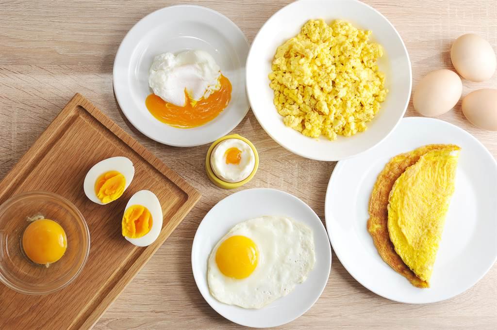 雞蛋的料理千變萬化,但最新研究說,1天只要吃1顆,就可能把罹患第二型糖尿病的風險提高60%。(達志影像/Shutterstock)