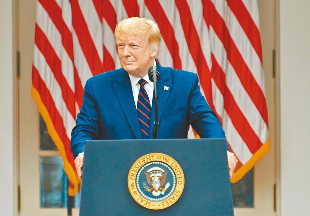 美國總統川普。(中新社資料照片)