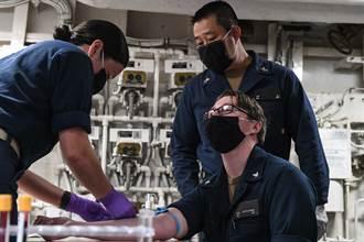 羅斯福號的教訓 最容易感染新冠肺炎的艦上單位出爐