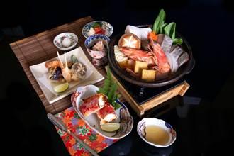 5星飯店午間龍鮑宴單人1200元起 日料推「秋蟹寒鰤御膳」