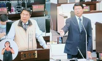 謝龍介質詢未關切中天換照 黃偉哲稱將在行政院會表達看法