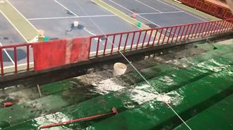 基隆臨時球場漏水不堪 斥資6千萬整建北部網球訓練中心