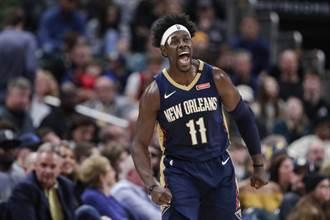NBA》公鹿半場打爆拓荒者 再創兩紀錄