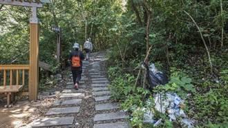 尖石後山秀巒賞楓季將至 林務局籲遊客隨手帶走垃圾
