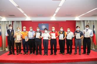 有您真好!盧秀燕表揚十六名計程車優良運將