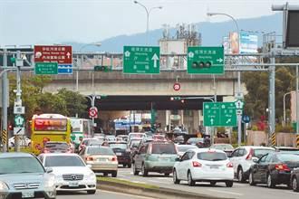 往返基隆、台北總塞車 議員盼拓寬高速公路