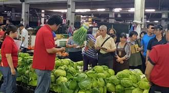花蓮果菜市場更新設備 穩定調節加強食安