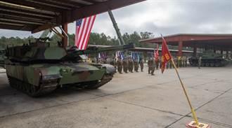 美国海军陆战队裁撤第2战车营