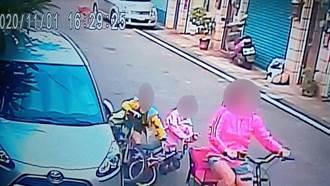小朋友騎腳踏車刮傷車後未停留 網戰翻:這樣算肇逃還是毀損?