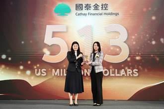 國泰金控連續四度入選台灣最佳國際品牌