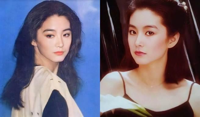 當時的林青霞美得不可方物。(圖/翻攝自微博)