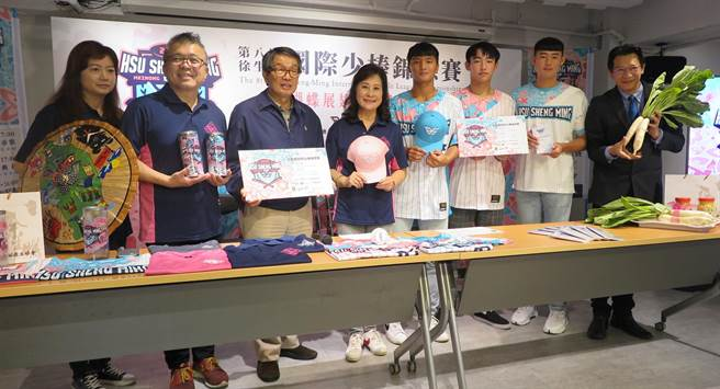 第八屆徐生明國際少棒錦標賽28日在美濃登場。(毛琬婷攝)
