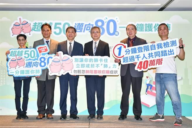11月18日是世界肺阻塞日,肺阻塞名列台灣國人十大死因第七名已是第11年 ,國民健康署與台灣胸腔暨重症加護醫學會聯手呼籲國人正視肺部健康的重要性。(圖/賴麗如)