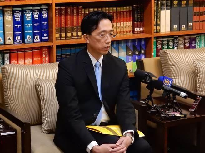 外交部北美司长徐佑典(本报系资料照片)