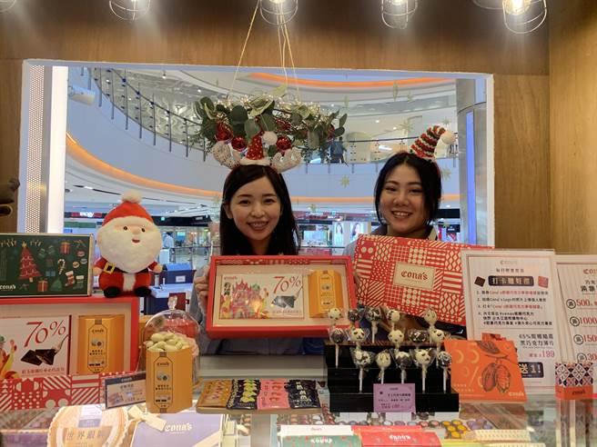 大江購物中心501號聖誕市集登場。(大江購物中心提供/呂筱蟬桃園傳真)