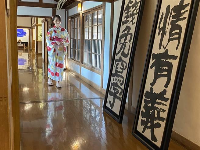 昭和十八J18前身为日治时期嘉义神社附属的斋馆及社务所,两者之间建有通廊相连。(冯惠宜摄)