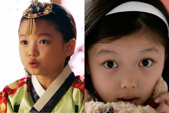 童星時期的金裕貞 可愛模樣受到許多人喜愛 (圖/ 翻攝自網路)