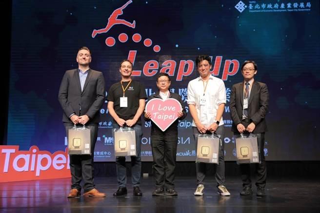 台北國際創業週起跑,各種創新思維綻放異彩。(北市府產業局提供/吳康瑋台北傳真)