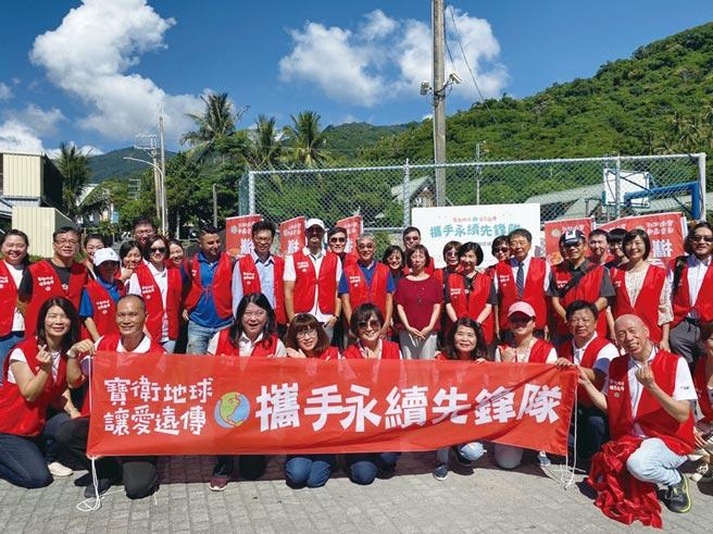 遠傳領先業界號召供應商成立「攜手永續先鋒隊」,發揮供應商夥伴的核心專長,共同投入幫助台灣弱勢團體。圖/遠傳提供