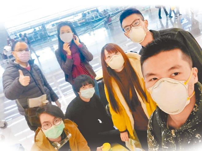 港澳生被接回就讀學校後,將實施14天居家隔離檢疫。(華梵大學提供)