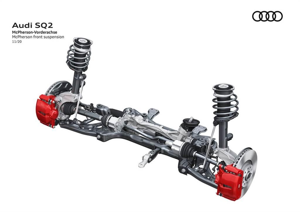 Audi SQ2小改款亮相!運動化外觀細節更加銳利