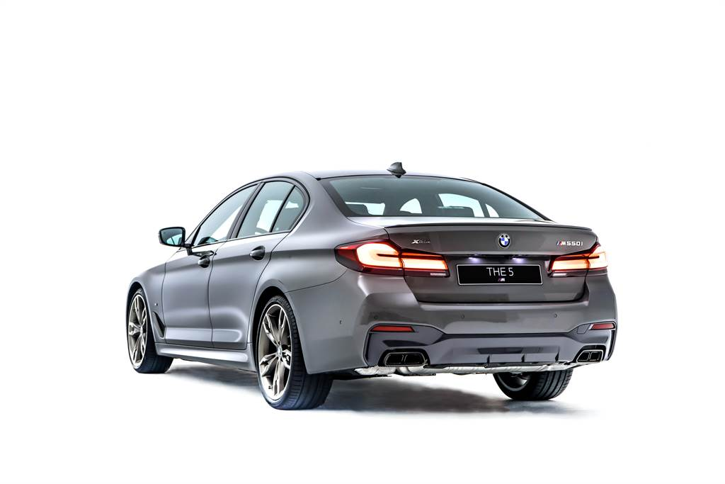 兼具日常使用與性能追求 BMW M550i xDrive