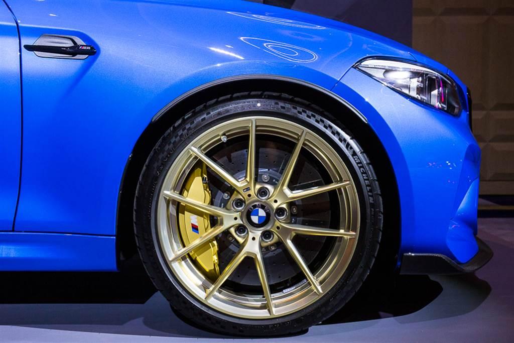 M2 CS為競技而生 輕量化車體結構大幅提升動力效能