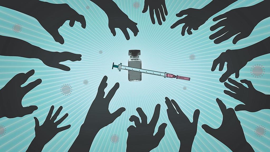 台灣想和疫情相對嚴峻的歐美大國搶疫苗,相當困難。(美聯社)