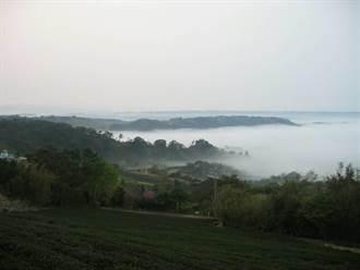 龍潭也能看雲海!大北坑休閒農業區觀景台下月啟用