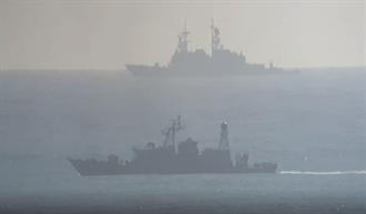 直擊F-16失事搜救 現場海流強勁軍艦採棋盤式搜索