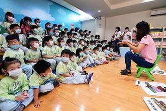 小小愛書人活動 小朋友聽故事、玩音樂