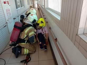 台南市消防局大量傷病患救災演練 百萬級救護裝備上場