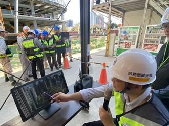 職安署應用無人機科技 巡檢營造工地作業安全