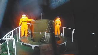 花蓮外海深、海流強勁 錦江艦已接收海中訊號全力搜救F-16
