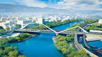 新北第六座景觀橋 將落腳三峽