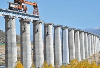 川藏鐵路高難度 跨5地貌7大河