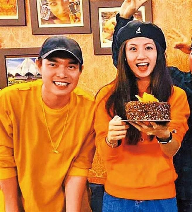 去年李千那生日,還是和當時的男友ECHO一起慶祝。(圖/翻攝自李千那IG)
