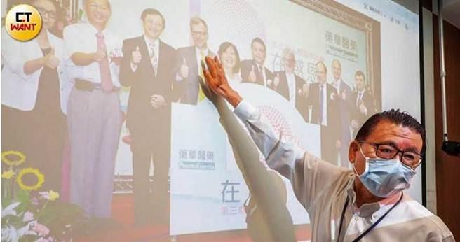 回顧創業歷程,林國鐘從設廠到興櫃等重要階段,都有許多貴人扶持。(圖/馬景平攝)