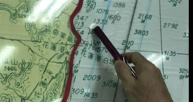 F-16A戰機失聯,海巡今加強奇萊鼻以北海域搜索。(王志偉攝)
