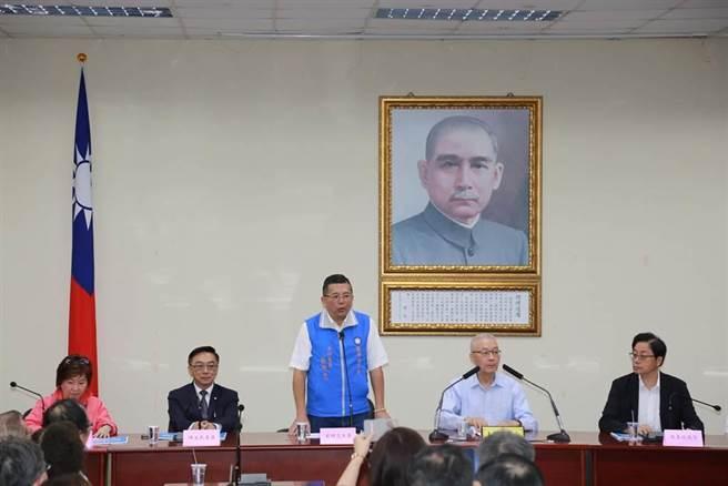 國民黨醫療委員會主委蔡明忠。(黃福其攝)