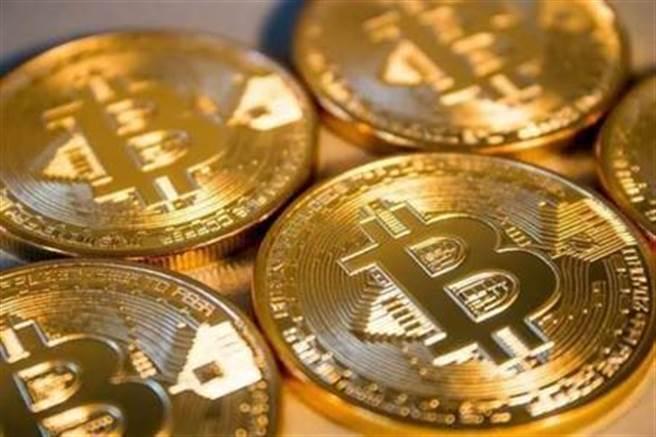 加密貨幣比特幣價格直直衝。(圖/達志影像)
