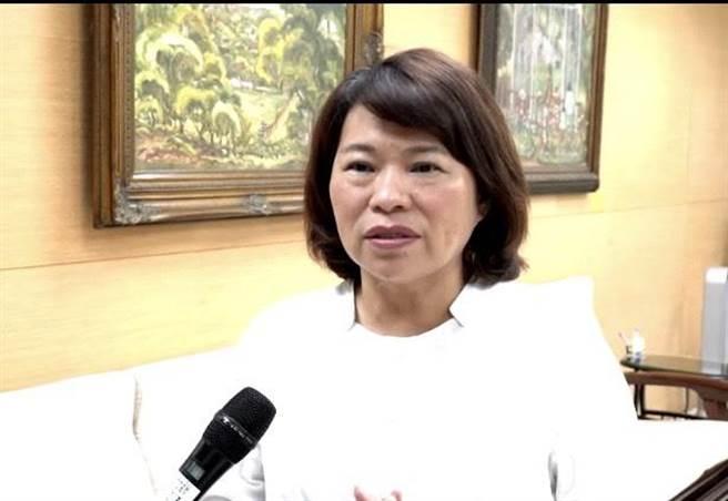 對NCC的決定,嘉義市長黃敏惠「深表遺憾」。(呂妍庭翻攝)